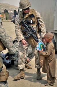 John winning Afghan hearts and minds