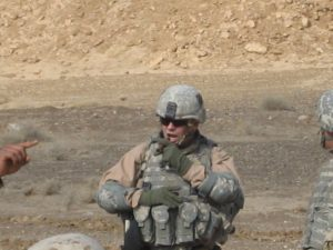 Mike on OPORDER Briefing to Iraqi Forces Thar Thar, Iraq