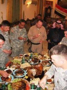Mike Winning Hearts and Minds with Sheik Muhammad Al Heiss Jazeera, Iraq